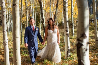 South Lake Tahoe Fall Elopement Photographer