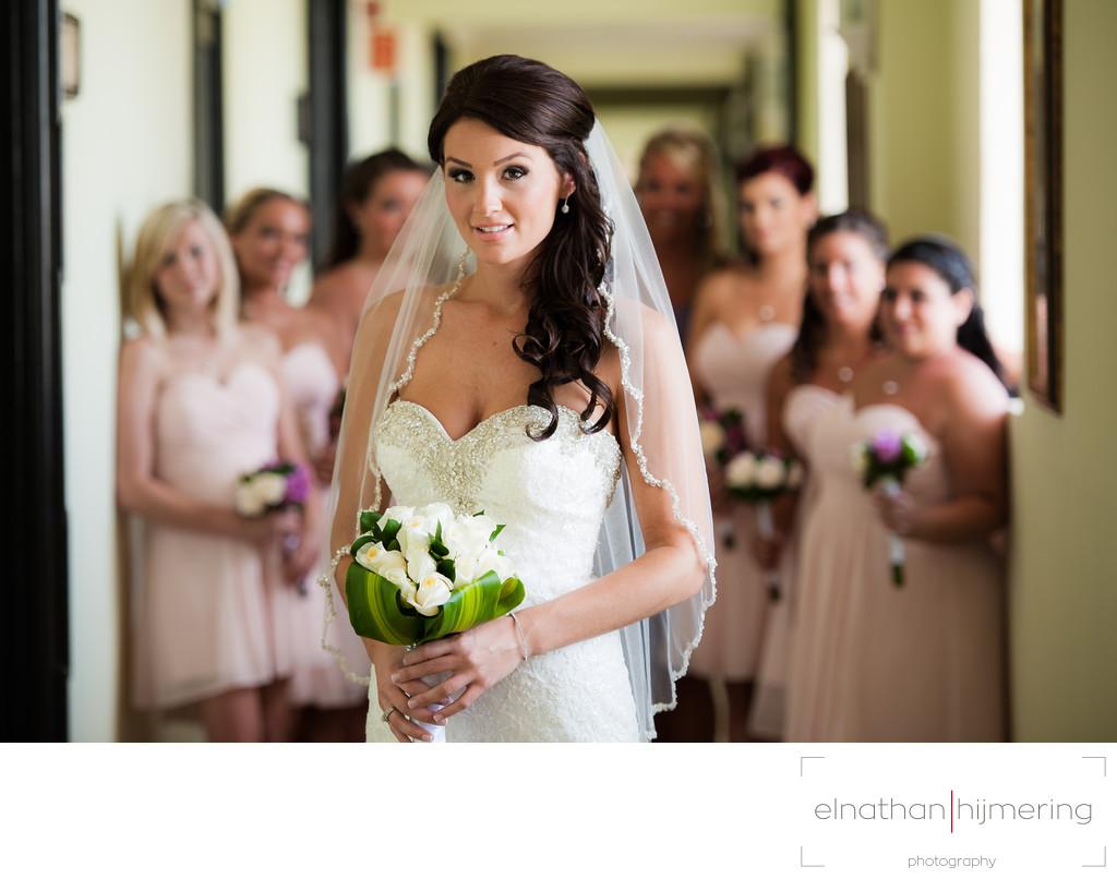 Bride Bridesmaid Posing Aruba Wedding Photographer Elnathan