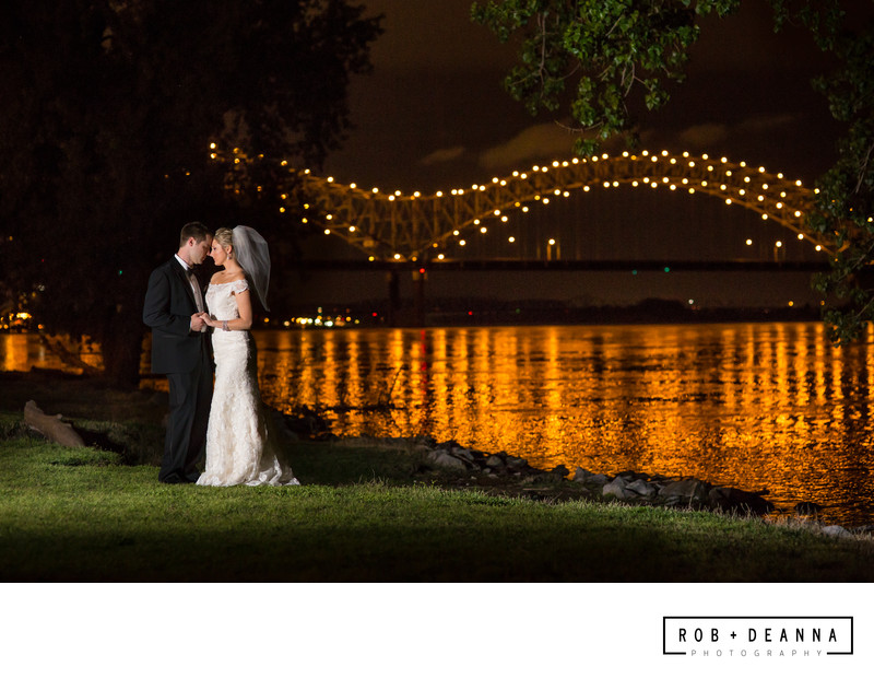 Memphis Bridge Wedding Photographer
