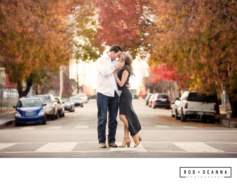 Downtown Memphis Engagement Photographers