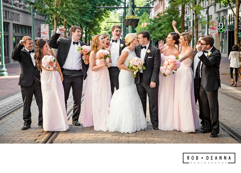 Memphis Bridal party Photographers