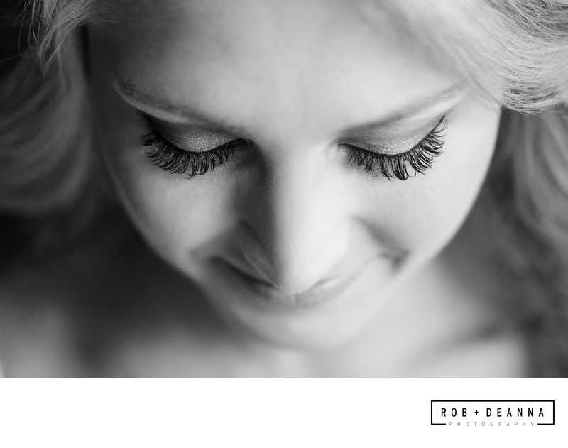 Memphis wedding photographer bridal makeup