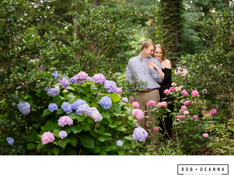 Memphis Wedding Photographer Engagement Botanic Garden