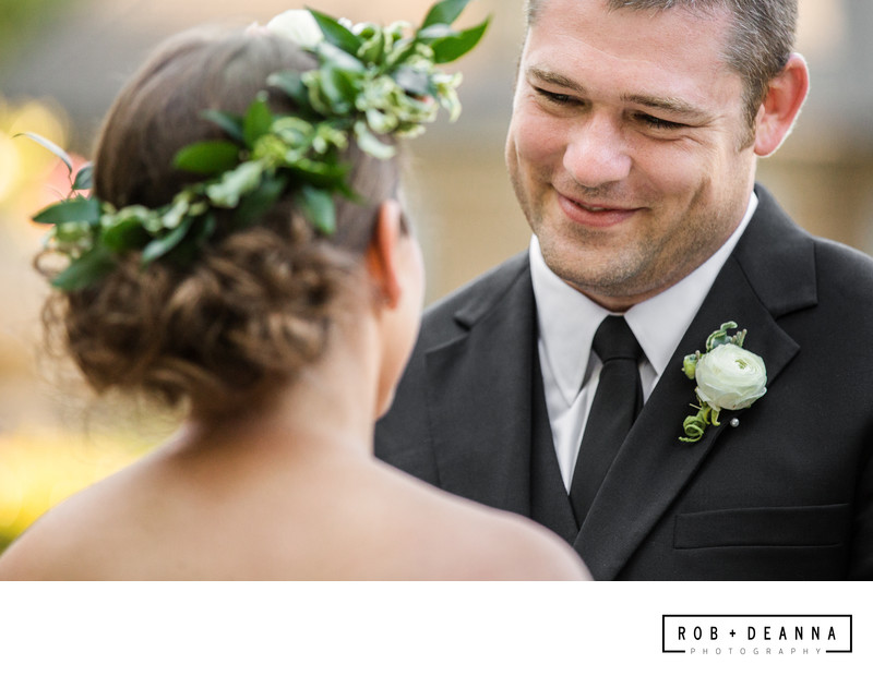 Memphis Wedding Photographer Ceremony Groom
