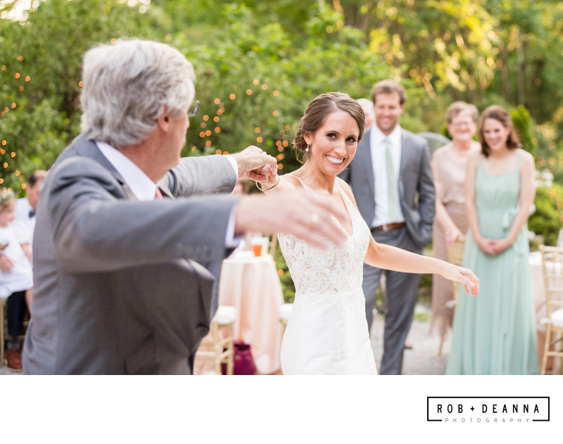 Memphis Wedding Photographer Father Daughter Dance