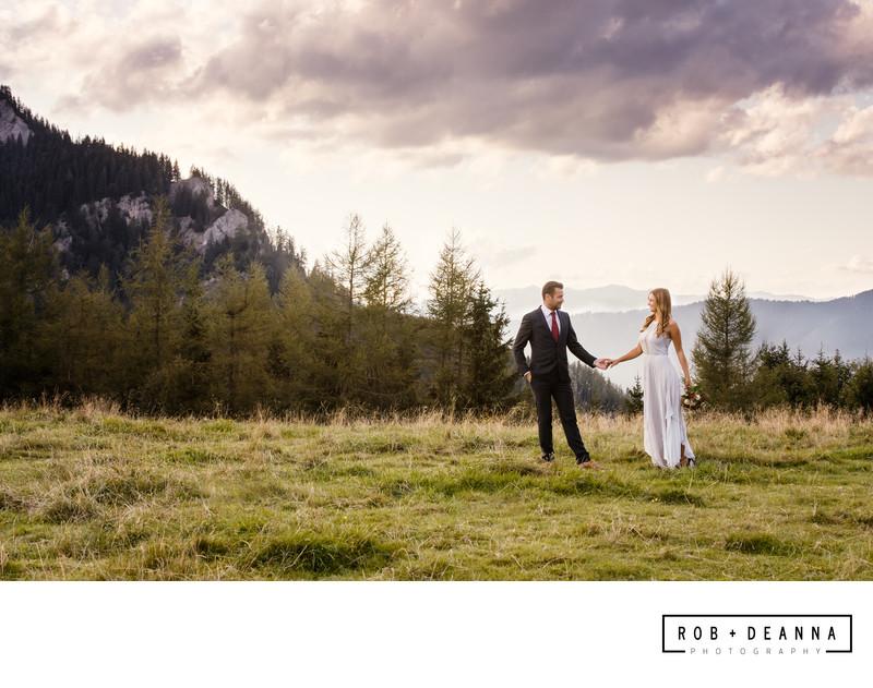 Memphis Wedding Photographer Austria Mountain Elopement