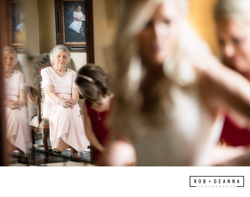 Memphis Wedding Photographer Heartwood Hall Grandmother