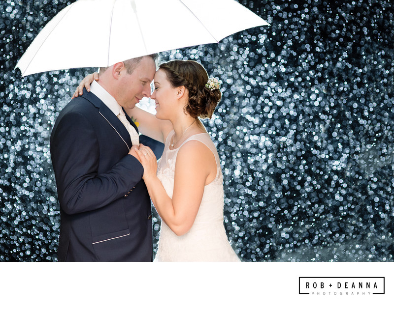 Memphis Wedding Photography Rain