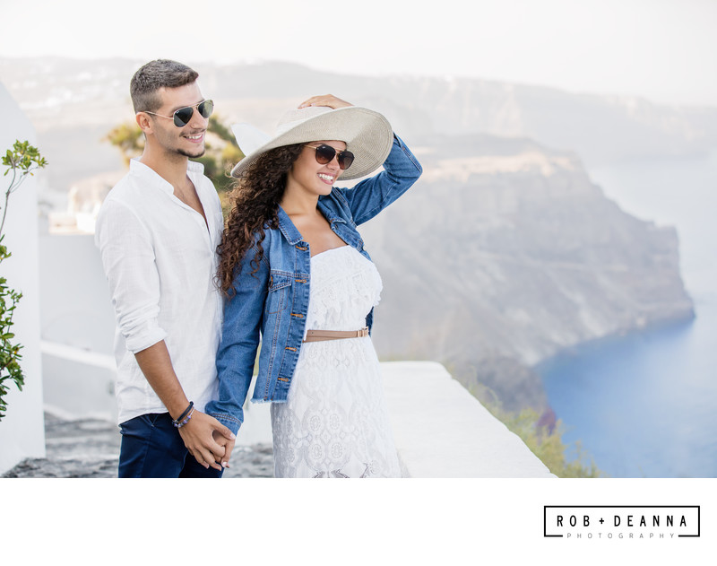 Memphis Wedding Photographer Santorini