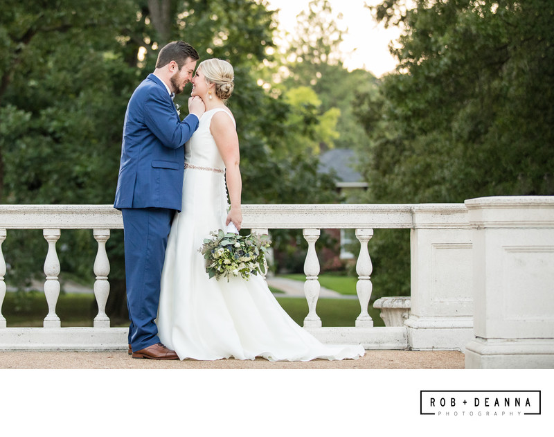 Memphis Wedding Photographer Brooks Museum Couple