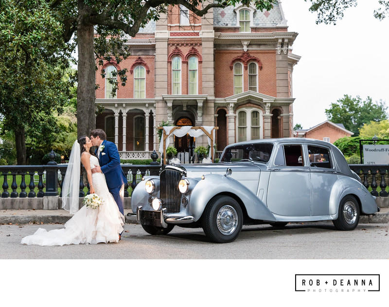 Memphis Wedding Photographer Woodruff Fontaine House Car