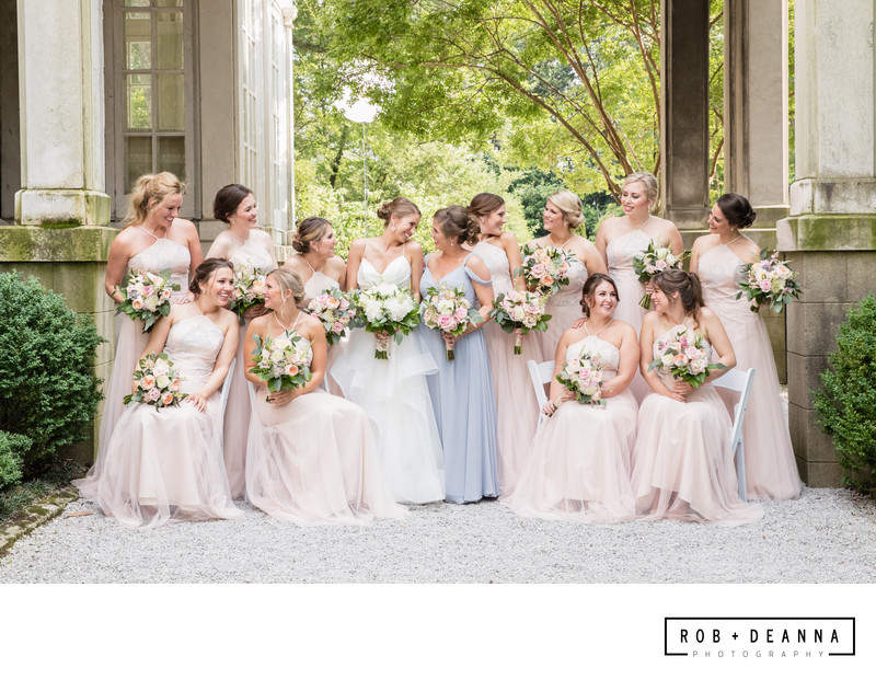 Memphis Wedding Photographer Annesdale Mansion Girls