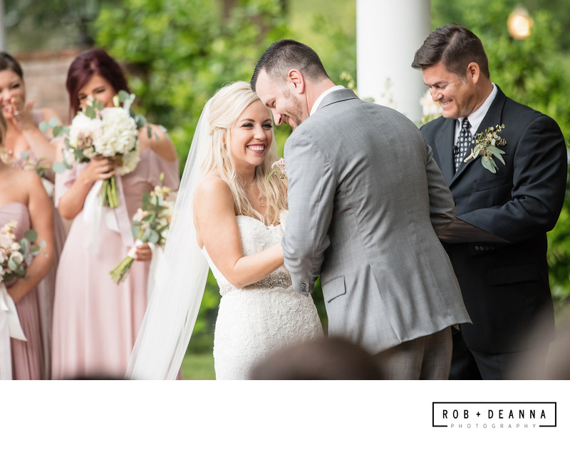 Memphis Wedding Photography Cedar Hall Ceremony