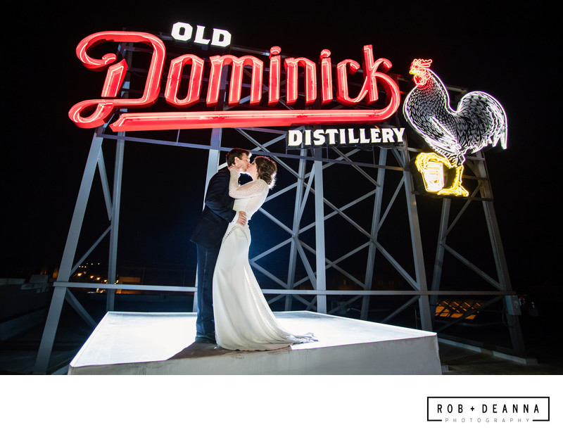Memphis Wedding Photographer Old Dominick Distillery