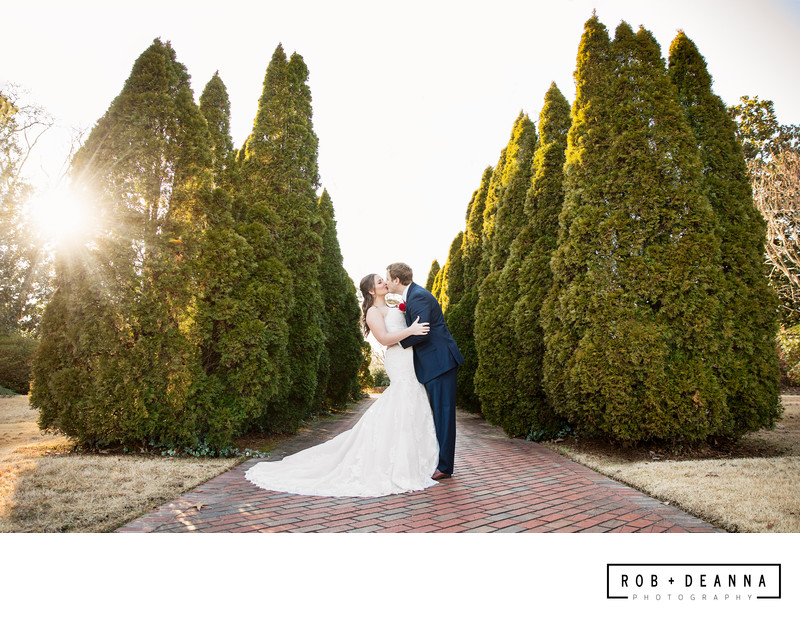 Nashville Wedding Photographer Botanic Garden