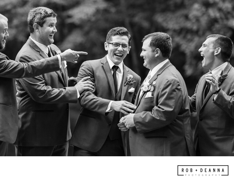 Memphis Wedding Photographer Zoo Groomsmen