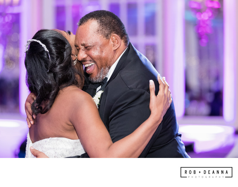 Memphis Wedding Photographer Peabody Father Dance
