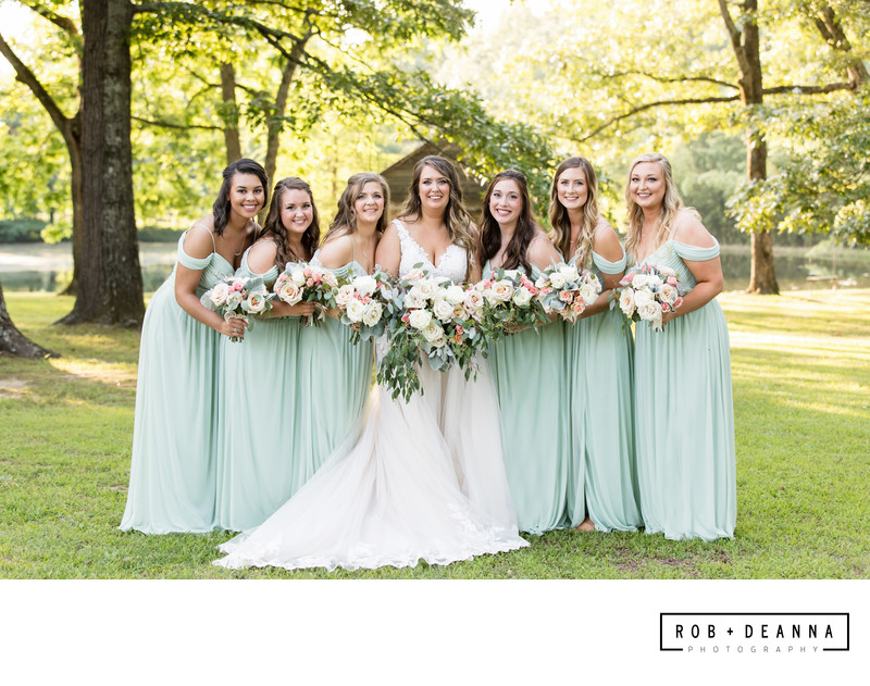 Memphis Wedding Photographer Heartwood Hall Girls