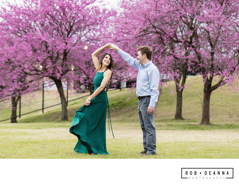 Memphis Wedding Photographers Twirl