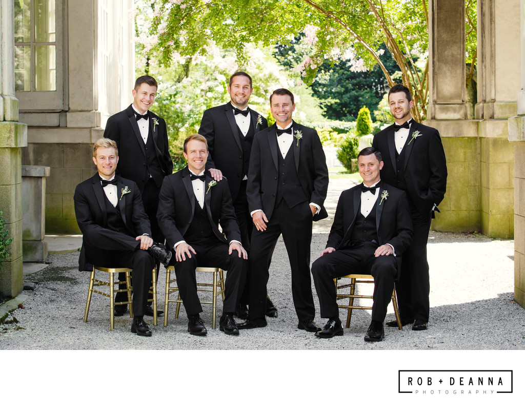 Memphis Best Groomsmen Wedding Photography