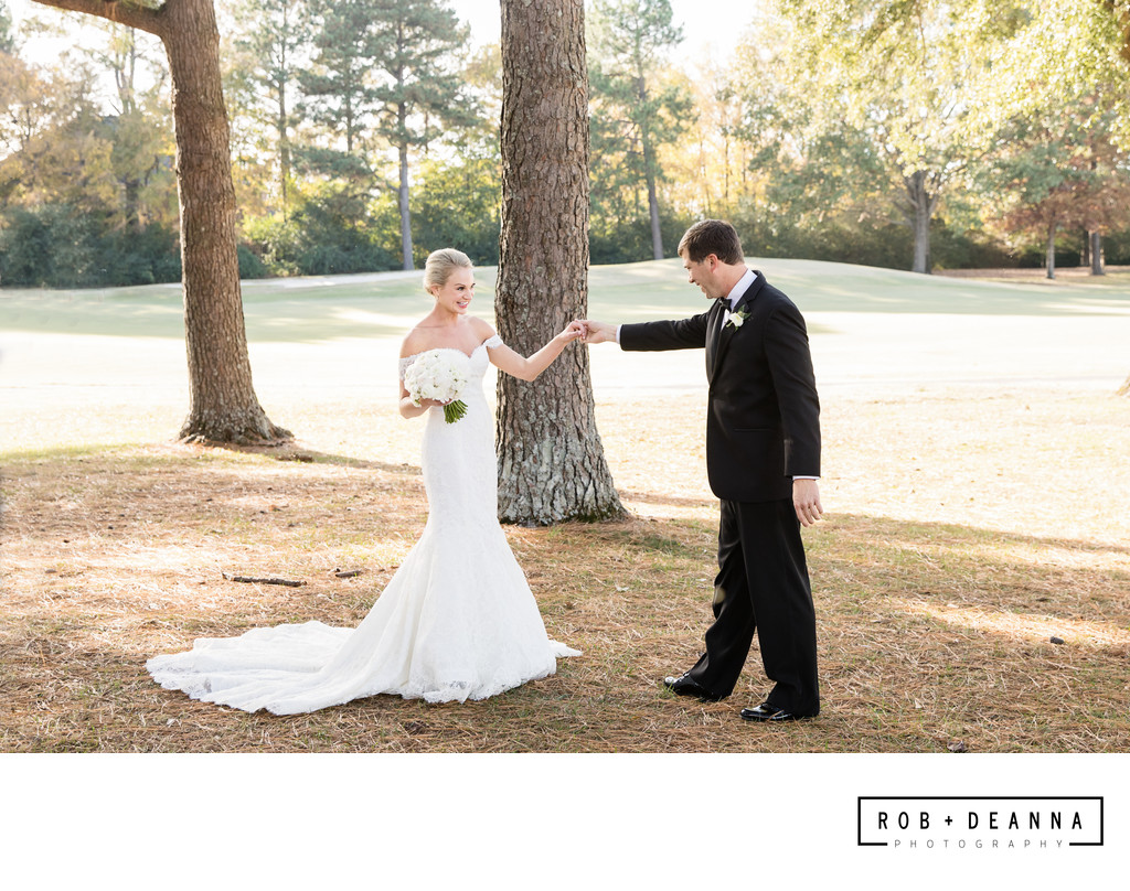 Memphis Wedding Photographer First Look
