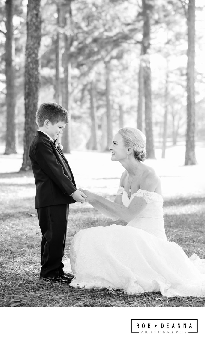 Memphis Wedding Photographer First Look Son
