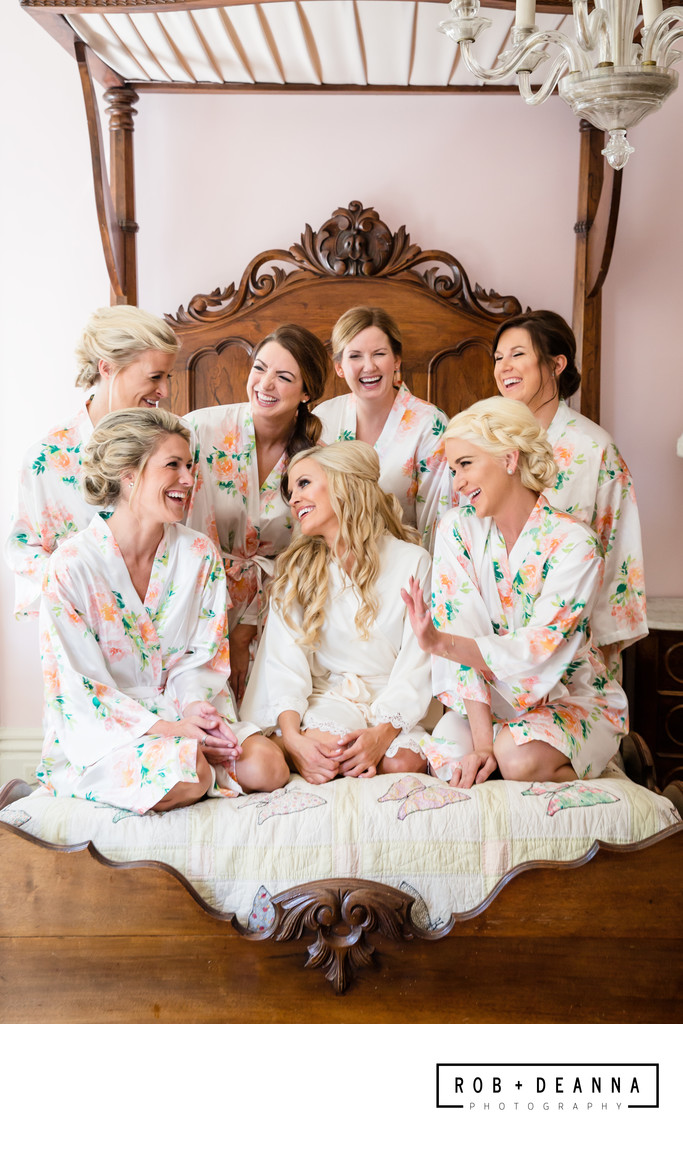 Annesdale Mansion Bridesmaids Memphis Weddings