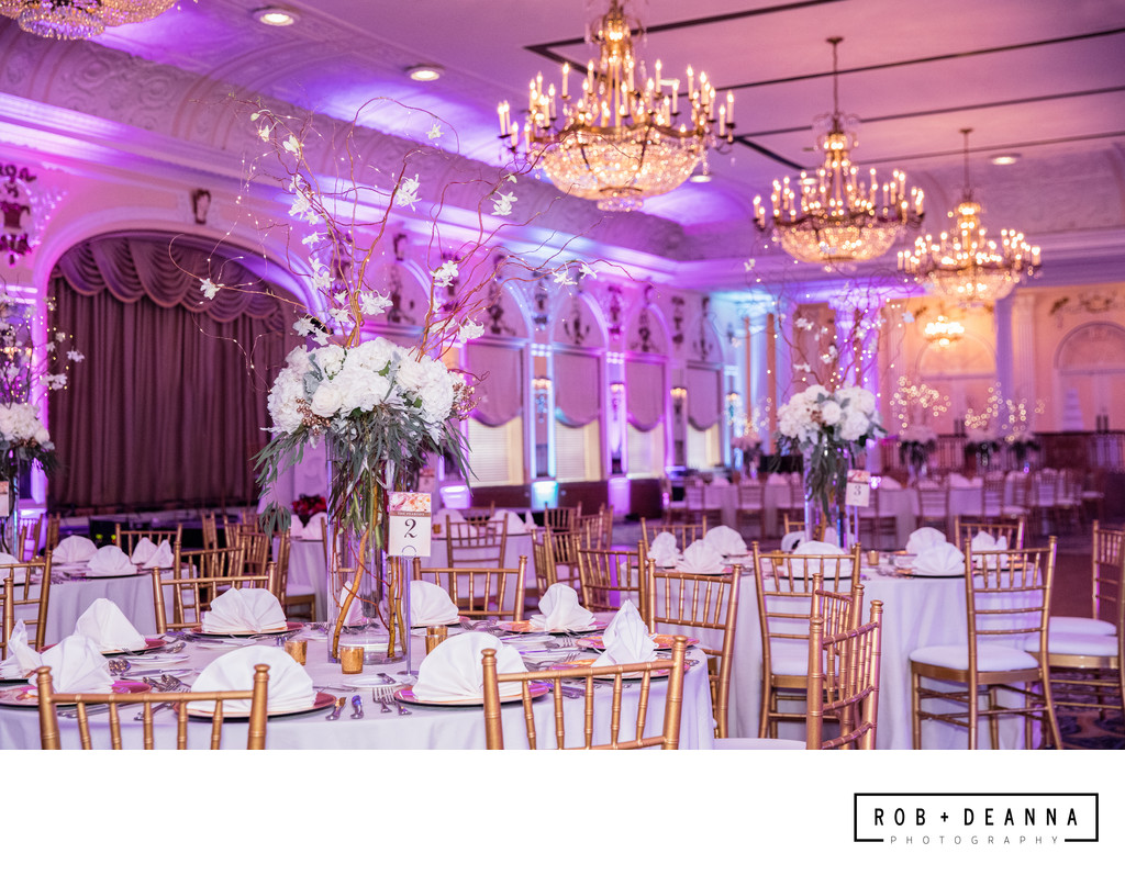 Memphis Wedding Photography Peabody Ballroom Florals