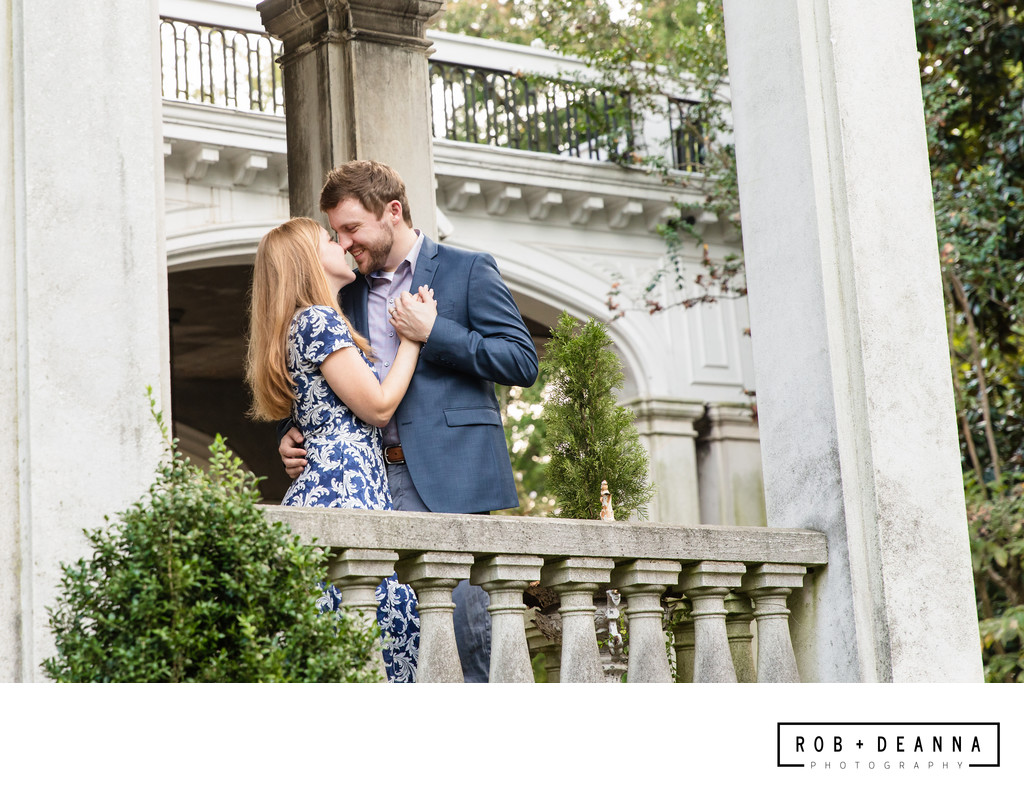 Memphis Wedding Photographer Annesdale Mansion Porch