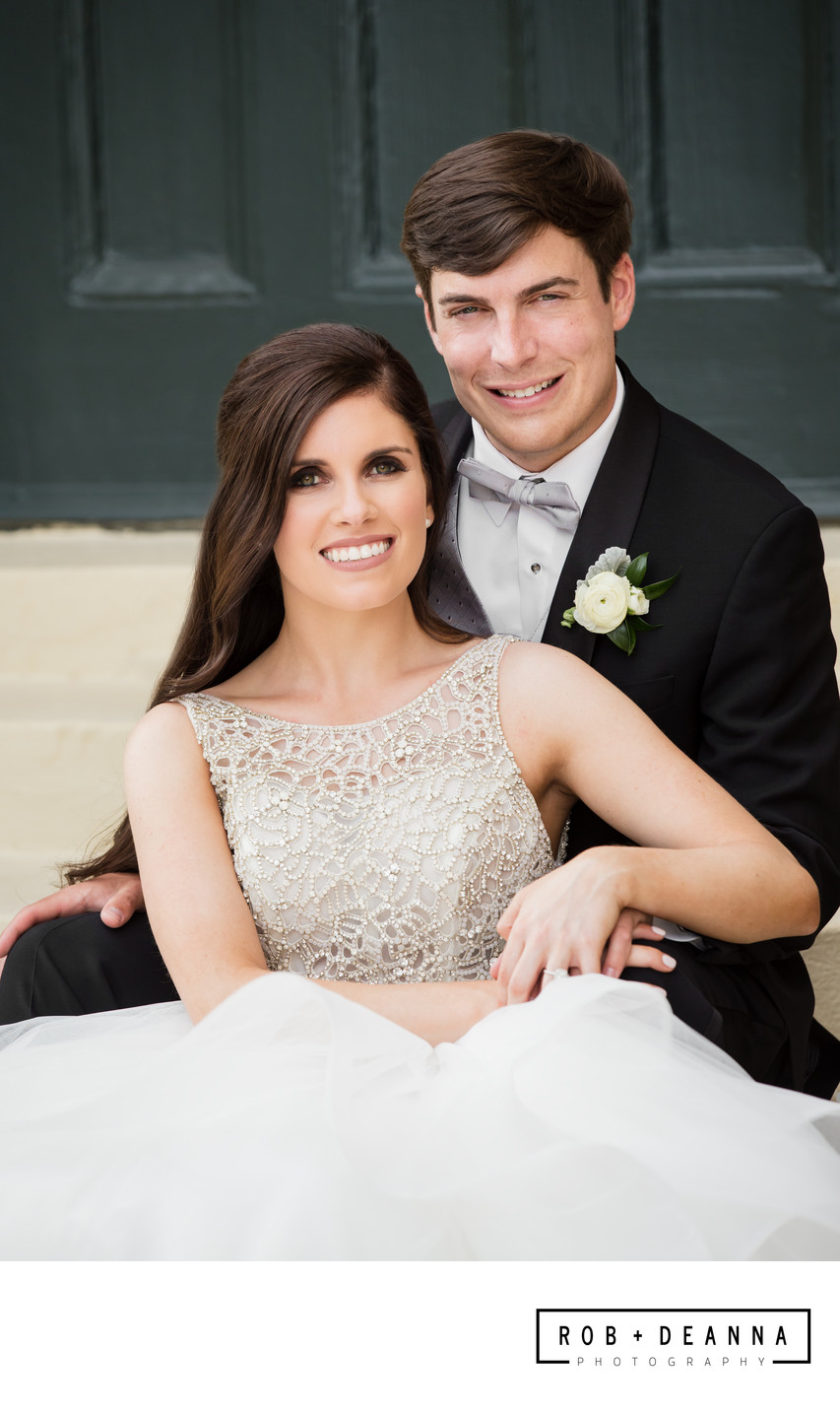 Memphis Wedding Photographer Bride Groom Portrait