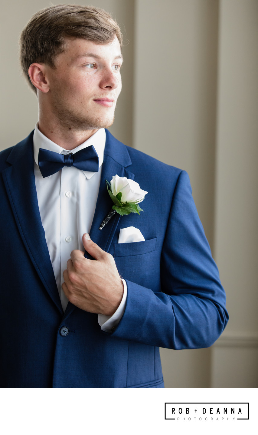 Memphis Wedding Photographer Cadre Groom