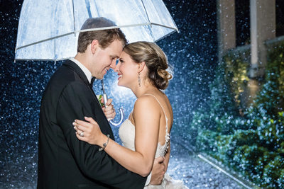 Memphis Wedding Photographer Annesdale Mansion Rain