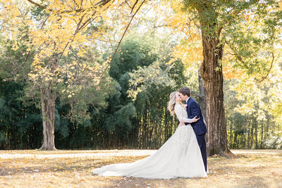 Memphis Wedding Photography Cedar Hall Fall