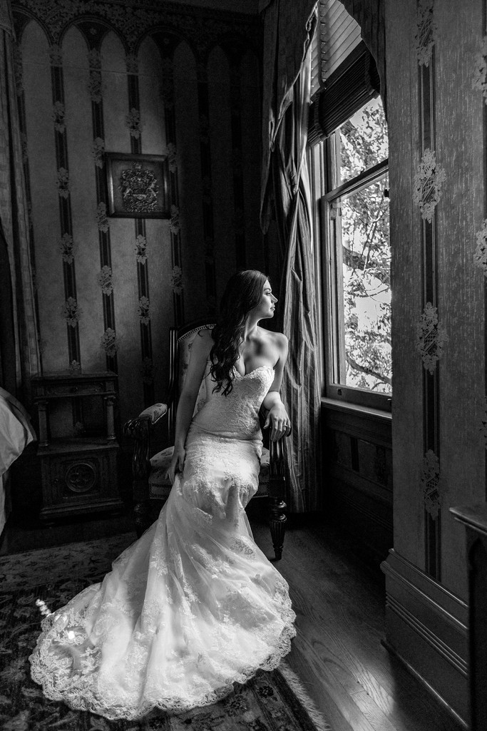 bride Britt Scripps Manor