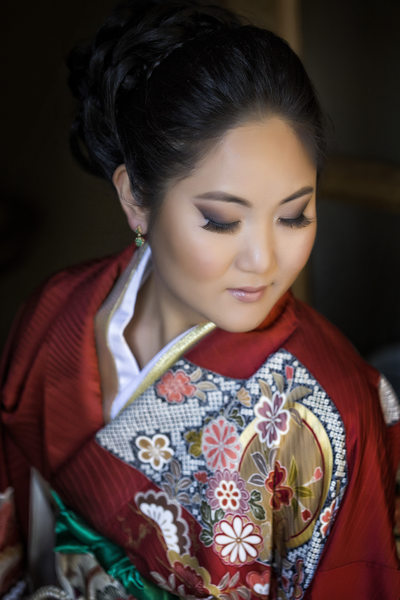 tomi japanese wedding portrait