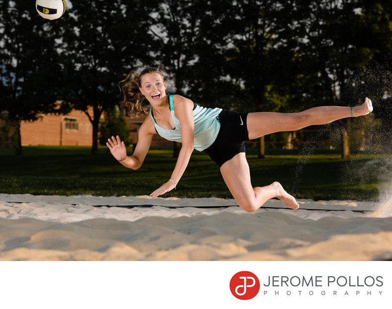 Volleyball Senior Portrait