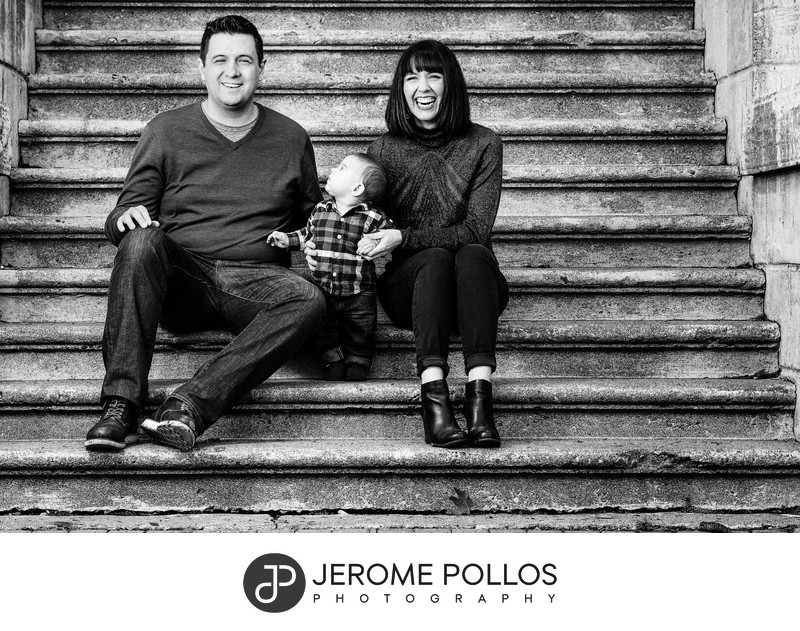 Gonzaga Family Portrait Session Spokane Washington