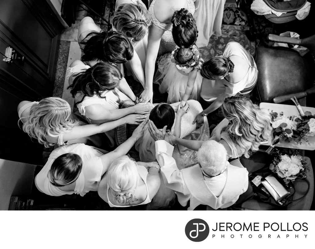 Bride Wedding Prayer Gonzaga Spokane Washington