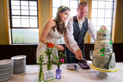 Bride Reacts To Almost Knocking Over Cake Schweitzer