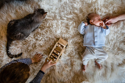 Coeur d'Alene Slice Of Life Newborn Lifestyle Picture