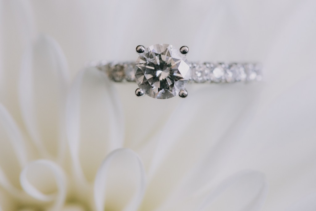 diamond engagement ring art photography