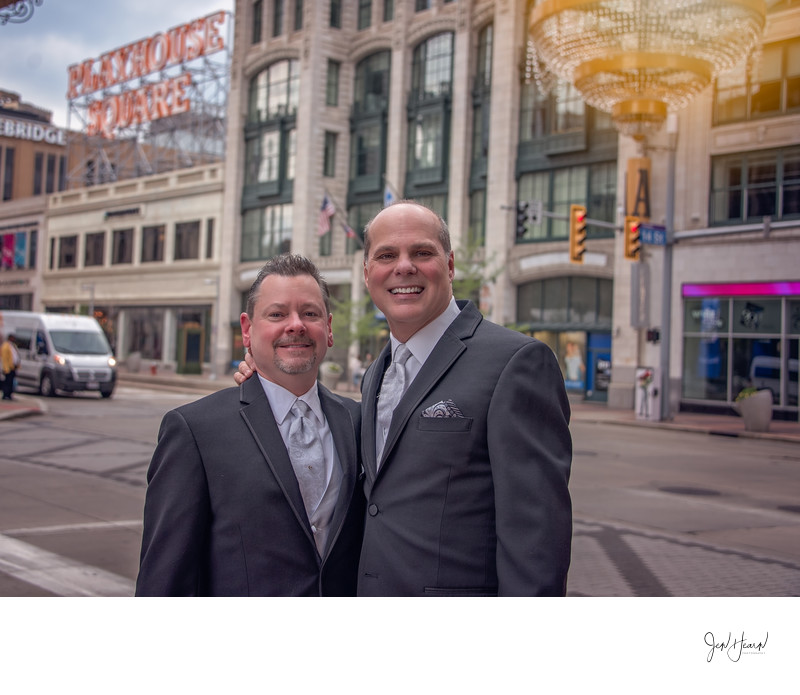 cleveland playhouse square wedding