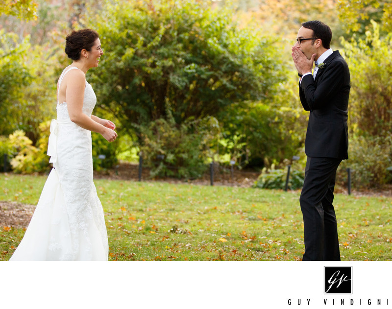 wedding at brooklyn botanic garden