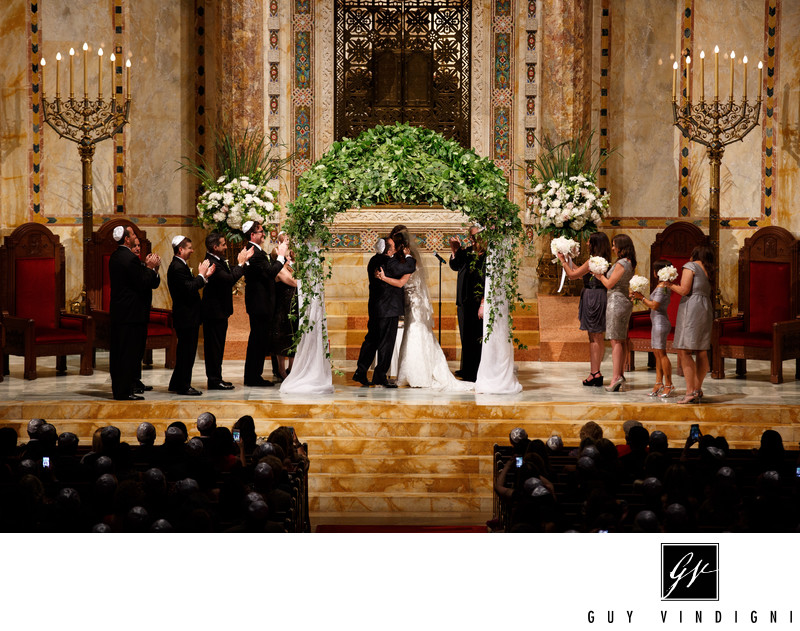 Temple Emanu-El of New York Wedding