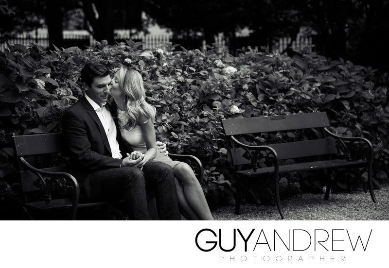 Gramercy Park Engagement Photos
