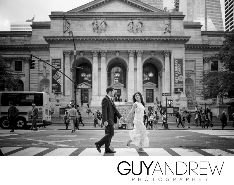 NYPL Wedding Photos