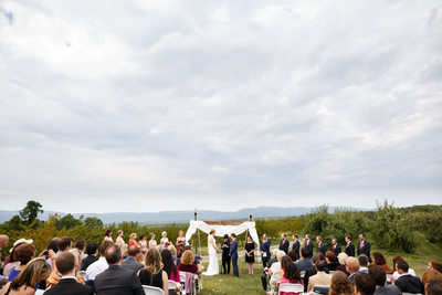 the hill at wrights farm wedding
