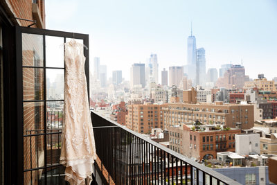 bowery hotel wedding dress