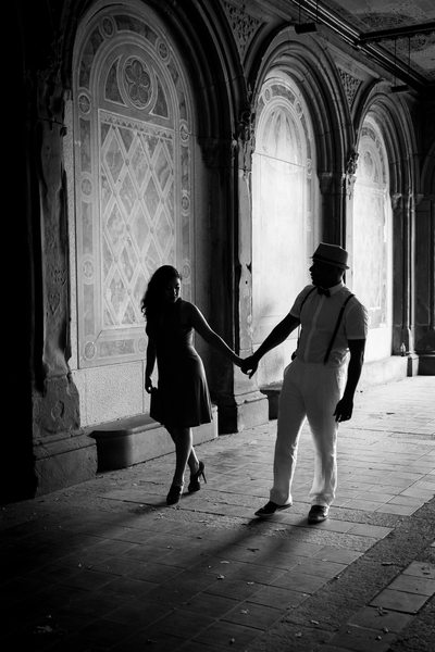 Engagement at Bethesda Terrace