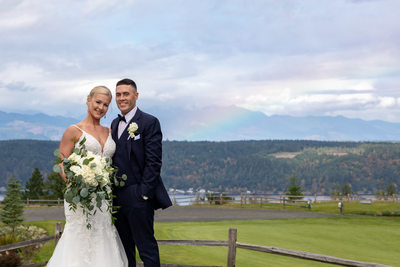 Best Alderbrook Resort Wedding Photographer